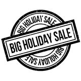 Big Holiday Sale rubber stamp Royalty Free Stock Photography