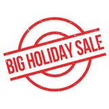 Big Holiday Sale rubber stamp Stock Images
