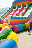 Big holiday water theme park. At department store Royalty Free Stock Photo
