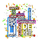 Big Holidays Royalty Free Stock Photo