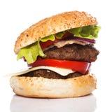 Big home made burger Royalty Free Stock Photo