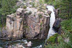 Big Horn Mountain rocks Stock Photography