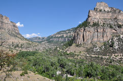 Big Horn National Forest, Wyoming, USA stock image