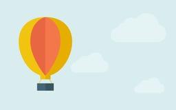 Big hot air balloon Stock Photos