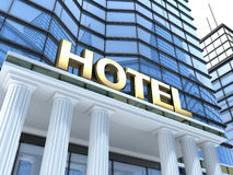 Big hotel Stock Photography