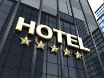 Big hotel Stock Photo