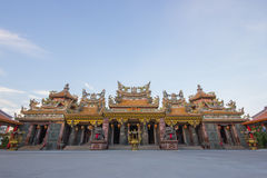 Big house of Chinese temple Stock Photos