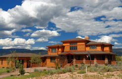 Big house in Colorado Royalty Free Stock Photography