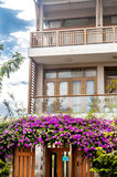 Big house in Danang city Royalty Free Stock Images