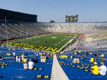 Big House gets new scoreboards Royalty Free Stock Photo