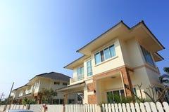 Big house modern style Royalty Free Stock Image
