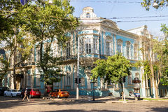 Big house in Odessa. In the summer. Ukraine Stock Photography