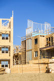 Big house under construction Royalty Free Stock Images