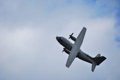 Big huge airplane looping Royalty Free Stock Photography