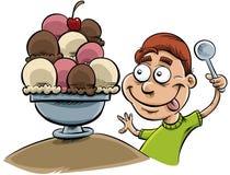 Big Ice Cream Royalty Free Stock Photo
