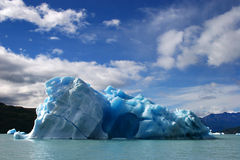 Big ice floe. Taken in patagonia, argentina, with canon 20d Stock Photo