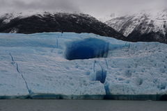 Big iceberg in Los Glaciares National Park, Argentina Royalty Free Stock Photography
