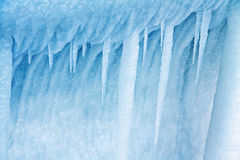 Big icicles Royalty Free Stock Photo