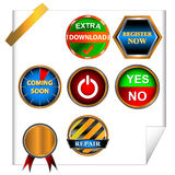 Big icon set Royalty Free Stock Photo