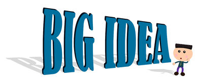 Big idea Royalty Free Stock Photos