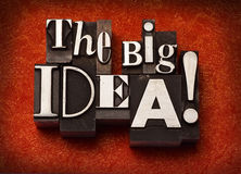 The Big Idea! Royalty Free Stock Images