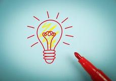 Big idea Royalty Free Stock Photography