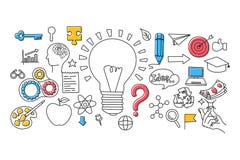 Big Idea concept for web design template Stock Photos