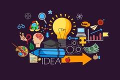 Big Idea concept for web design template Stock Photo
