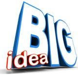 Big idea Royalty Free Stock Photo