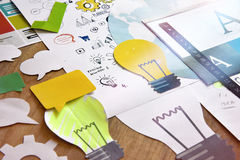 Big idea creative concept Stock Photo