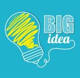 Big idea, creative and intelligence Stock Photos