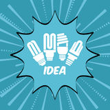 Big idea design Royalty Free Stock Photography