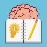 Big idea design Stock Image