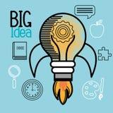 Big idea design Stock Photos