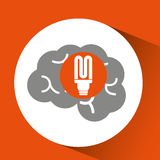 Big idea design. Illustration eps10 graphic Royalty Free Stock Photo