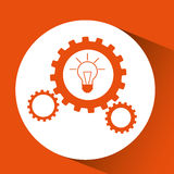 Big idea design Royalty Free Stock Image