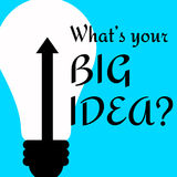 Big idea Royalty Free Stock Photo