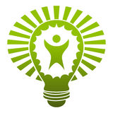 Big Idea Lightbulb Royalty Free Stock Image