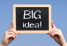 Big idea sign Stock Images