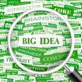 BIG IDEA Royalty Free Stock Photos