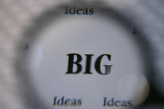 Big Ideas Royalty Free Stock Photography