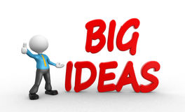 Big ideas Royalty Free Stock Images