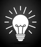 Big ideas design. Big ideas graphic design, vector illustration. lightbulb icon Stock Photo