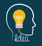 Big ideas design. Stock Image
