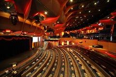 Big illuminated hall, scene in Costa Deliziosa Stock Photography