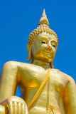 Big image of buddha in thailand. And beautiful sky Stock Image