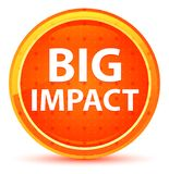 Big Impact Natural Orange Round Button stock illustration