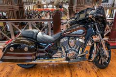 Big Indian motorcycle at Motorclassica