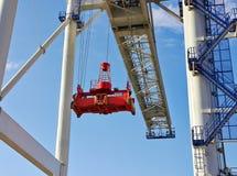 Big industrial crane Royalty Free Stock Image