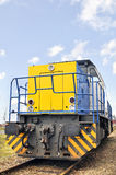 Big industrial diesel locomotive Royalty Free Stock Photos